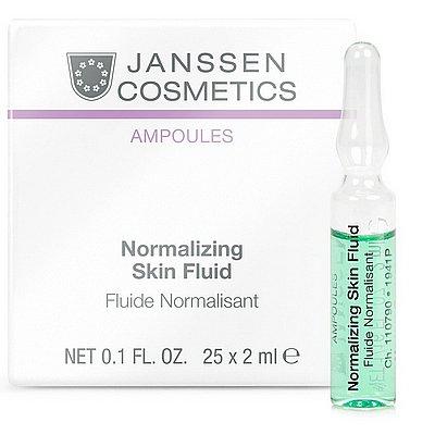 Janssen Cosmetics - Janssen Cosmetics Ampoules Normalizing Skin Fluid 25X2ml