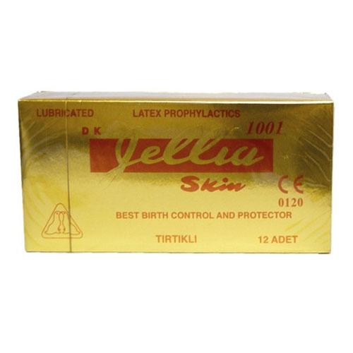 Jellia Skin - Jellia Skin Prezervatif Tırtıklı 12li