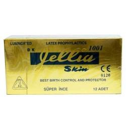 Jellia Skin - Jellia Skin Süper İnce Prezervatif 12Adet
