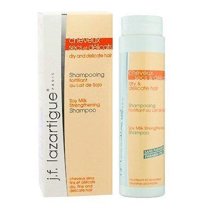 J.F Lazartigue Ürünleri - J.f Lazartigue Kuru Saçlar İçin Soya Sütlü Güçlendirici Şampuan 200ml