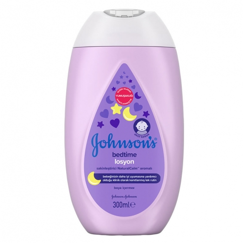 Johnson & Johnson - Johnsons Baby Bedtime Losyon 300 ml