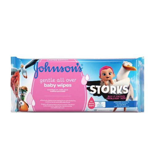 Johnson & Johnson - Johnsons Baby Gentle Cleansing Losyonlu Islak Mendil 56 Adet