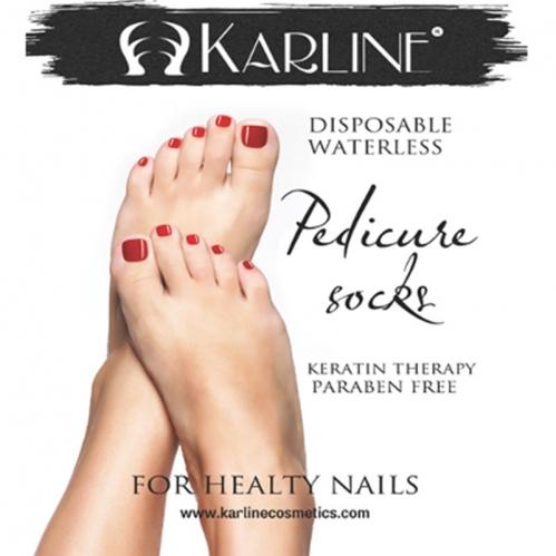 Karline - Karline Pedikür Çorabı