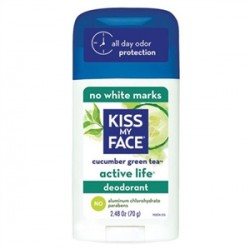 Kiss My Face - Kiss My Face Active Life Stick Cucumber Green Tea 70gr