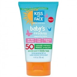 Kiss My Face - Kiss My Face Babys First Kiss Mineral Lotion Spf50 118ml