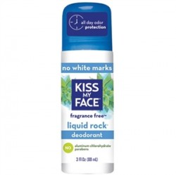Kiss My Face - Kiss My Face Liquid Rock Roll On Fragrance Free 88ml