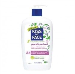 Kiss My Face - Kiss My Face Peaceful Patchouli 2 in 1 Deep Moisturizing Body Lotion 177ml