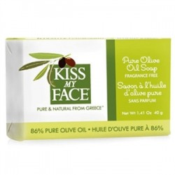Kiss My Face - Kiss My Face Pure Olive Oil Bar Soap Travel Size 40gr