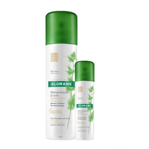 Klorane Saç Bakım - Klorane Isırgan Otu Özlü Renkli Kuru Şampuan 150 ml + 50 ml HEDİYE
