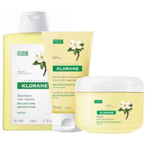Klorane Saç Bakım - Klorane Magnolia Saç Bakım Seti