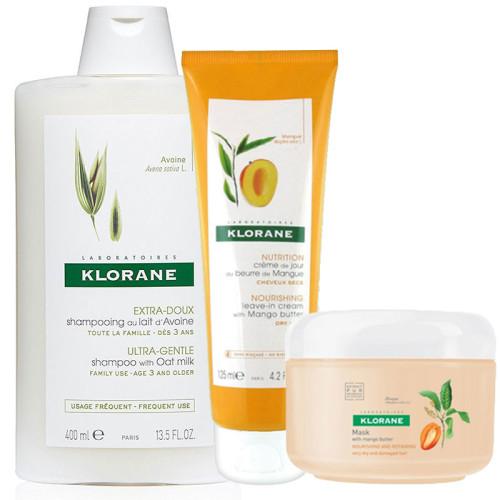 Klorane Saç Bakım - Klorane Saç Bakım Seti2