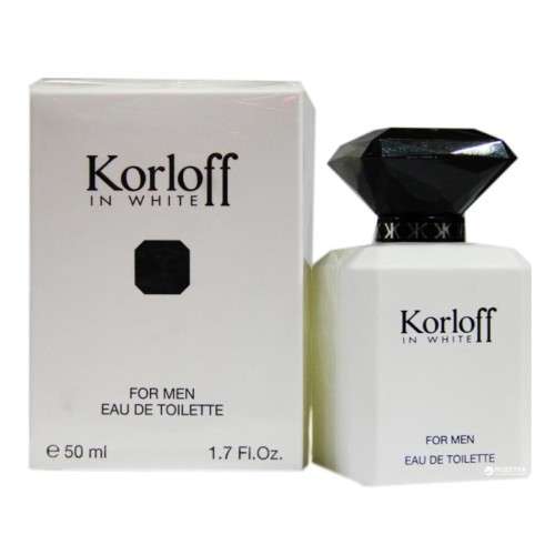 Korloff - Korloff in White Man Edt Spray 50ml