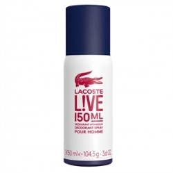 Lacoste - Lacoste Live Pour Homme Deodorant Spray 150ml