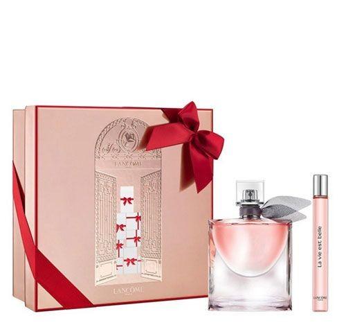 Lancome ürünleri - Lancome La Vie Est Belle Bayan EDP Parfüm - Sevgililer Gününe Özel SET