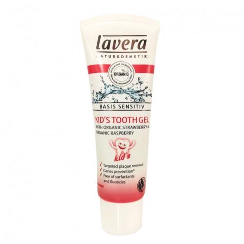 Lavera Ürünleri - Lavera Basis Sensitiv Organik Diş Macunu Frambuaz & Çilekli 75ml
