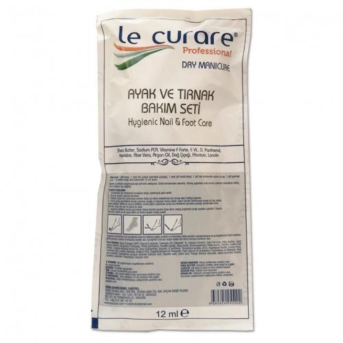 Le Curare - Le Curare Dry Manicure Ayak ve Tırnak Bakım Seti 12 ml