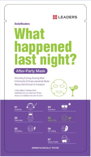 Leaders Ürünleri - Leaders Daily What Happened Last Night Mask