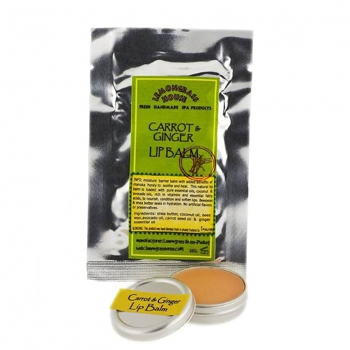 Lemongrass - Lemongrass Dudak Balsamı Zencefil ve Havuç 15 gr