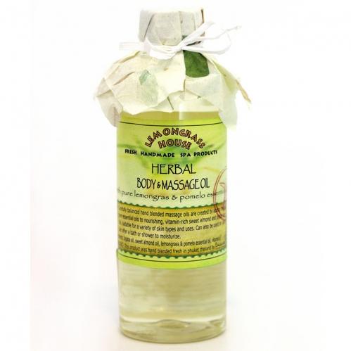Lemongrass - Lemongrass Masaj Yağı Bitkisel 250 ml