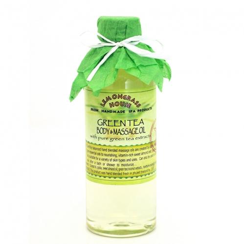Lemongrass - Lemongrass Masaj Yağı Yeşil Çay 250 ml