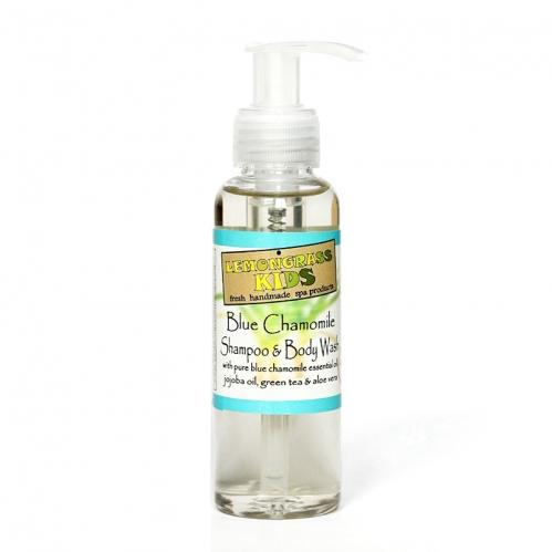 Lemongrass - Lemongrass Şampuan ve Vücut Jeli Mavi Papatya 120 ml