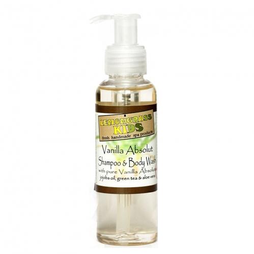 Lemongrass - Lemongrass Şampuan ve Vücut Jeli Vanilya 120 ml