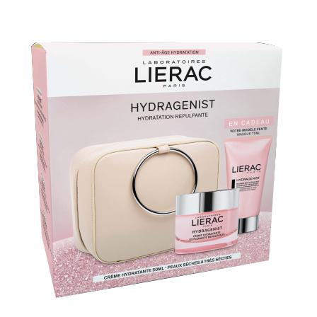 Lierac Ürünleri - Lierac Christmas Hydragenist Creme Set - Çantalı