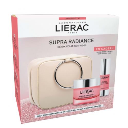 Lierac Ürünleri - Lierac Christmas Supra Radiance Gel Creme Set- Çantalı