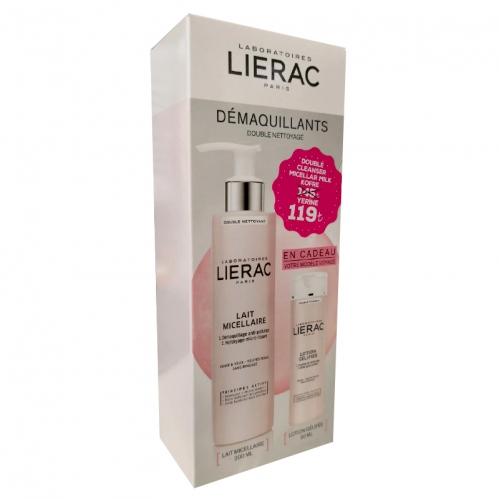 Lierac Ürünleri - Lierac Micellar Milk Double Cleanser SET