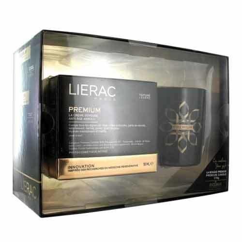 Lierac Ürünleri - Lierac Premium Creme Soyeuse 50ml + Premium Kokulu Mum 170gr HEDİYE