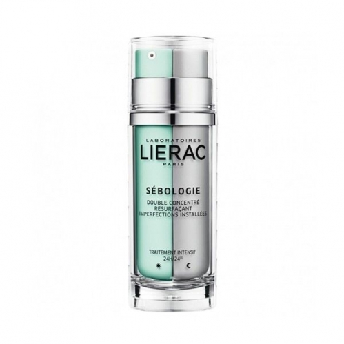 Lierac Ürünleri - Lierac Sebologie Imperfections Resurfacing Day & Night Double Concentrate 30 ml