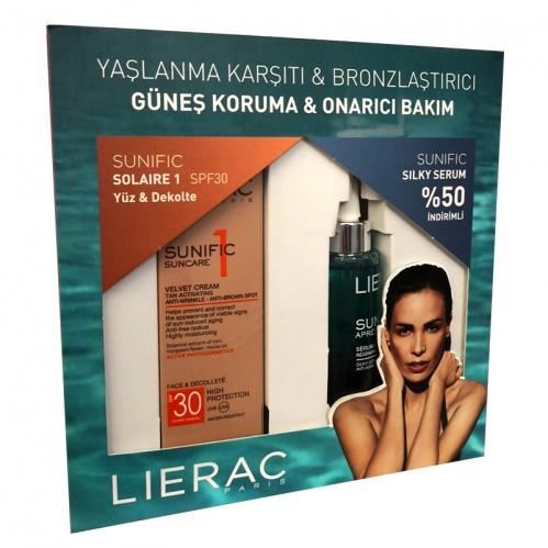 Lierac Ürünleri - Lierac Sunific Suncare1 Creme Spf30 Kofre