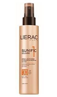 Lierac Sunific Suncare1 Iridescent Milk Spray 150ml