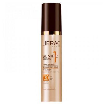 Lierac Ürünleri - Lierac Sunific Suncare1 Velvet Cream Spf30 50ml