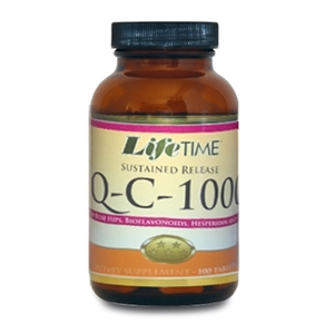 Lifetime Q-C-1000 Timed Release with Rose Hips 100 Kapsül