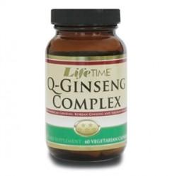 LifeTime - Lifetime Q-Ginseng Complex Veggie Capsules 60 Kapsül