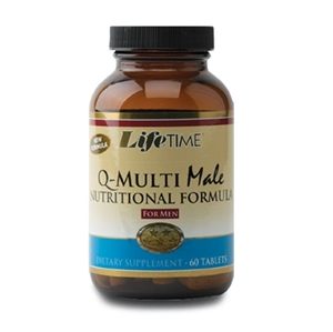 Lifetime Q-MultiMale 60 Tablets