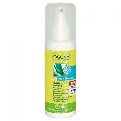 Logona Günlük Bakım Deo Sprey 100ml - Organik Aloe ve Mine Çiçeği