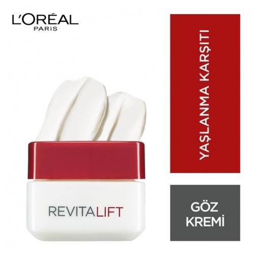 Loreal Paris Ürünleri - Loreal Paris Revitalift Göz Çevresi Bakım Kremi 15 ml