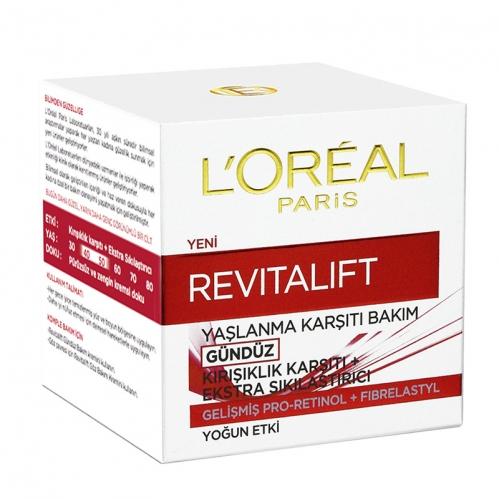 Loreal Paris Ürünleri - Loreal Paris Revitalift Yaşlanma Karşıtı Krem-Gündüz 50ml