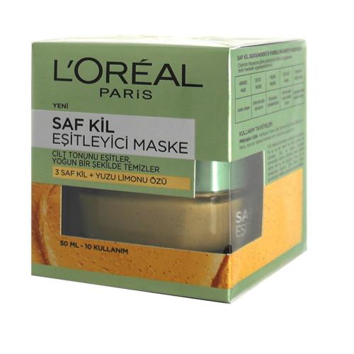 Loreal Paris Ürünleri - Loreal Paris Saf Kil Eşitleyici Maske 50ml