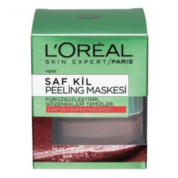 Loreal Paris Ürünleri - Loreal Paris Saf Kil Peeling Maskesi 50ml