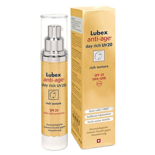 Lubex - Lubex Anti-Age Day Rich Uv20 Spf20 50ml