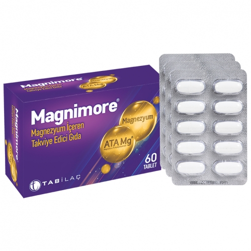 TAB İlaç Sanayi A.Ş - Magnimore Takviye Edici Gıda 60 Tablet