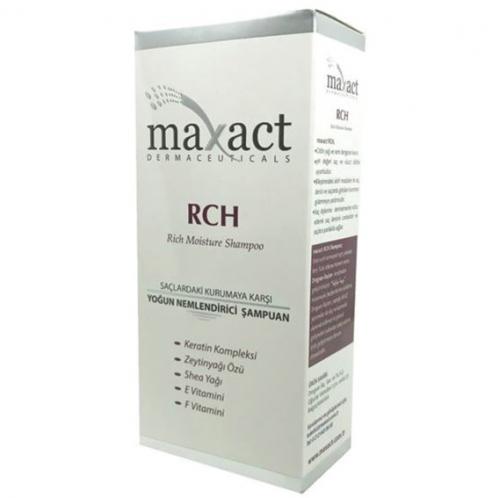 Maxact Ürünleri - Maxact Rch Moisture Shampoo 250ml