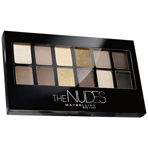 Maybelline - Maybelline The Nudes Palette 9.6g