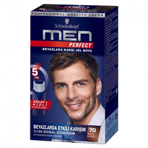 Men Perfect - Men Perfact Jel Boya 70 Koyu Kahve 80 ml