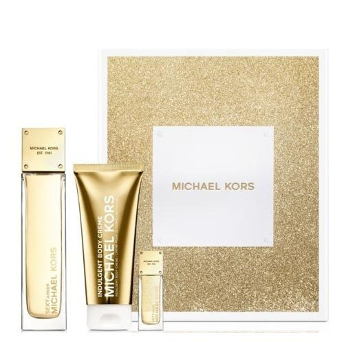 Michael Kors - Michael Kors Sexy Amber Holiday Bayan Parfüm SET