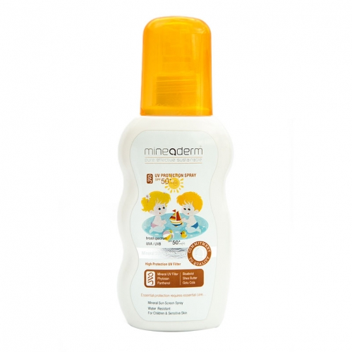 Mineaderm Ürünleri - Mineaderm UV Protection & Hydration Kids Spray SPF50+ 150 ML