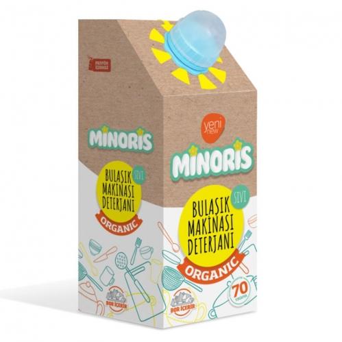 Minoris - Minoris Organik Bulaşık Makinası Deterjanı - 70 Yıkama